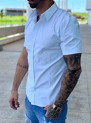 Camisa Manga Curta White Details - Exalt Urban