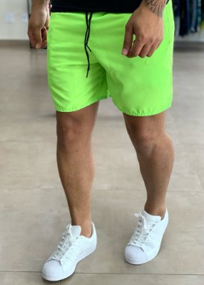 Shorts Beach Verde Neon - Totanka