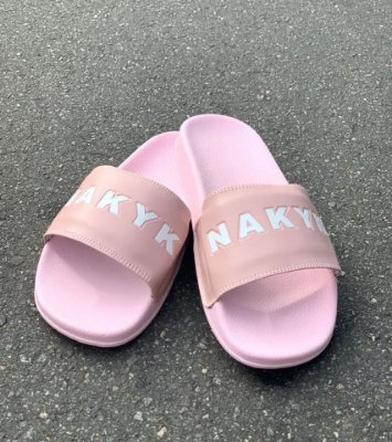 Chinelo Slide Rose - Nakyk