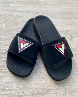 Chinelo Slide Black Effect - Nakyk