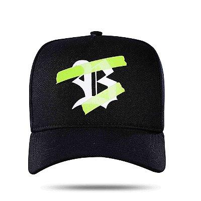 Snapback Black&Green Transparency - BLCK
