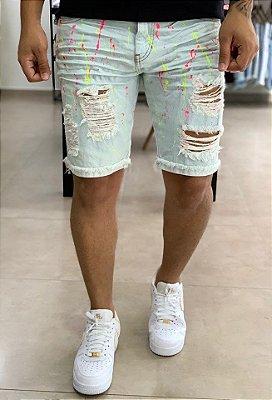 Bermuda Jeans Clara Respingos - Degrant