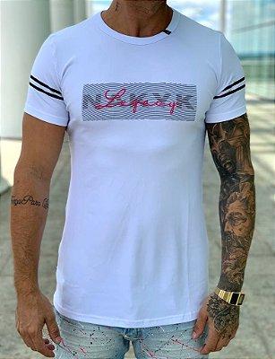 Camiseta Longline White Legacy - Nakyk
