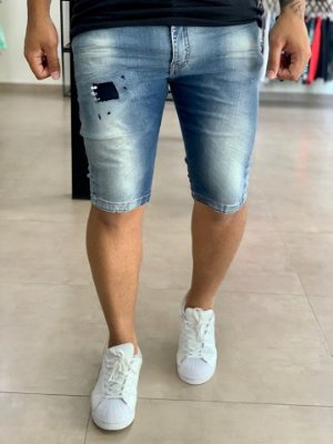 Bermuda Jeans Skinny Forro Quilmes - City Denim