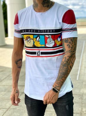 Camiseta Longline Characters - King Joy