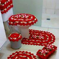 jogo de banheiro 6 peças