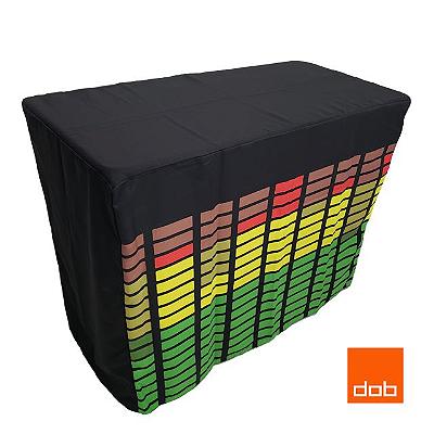 Capa Envelope Led Digital para mesa dobrável - 122x61x84cm
