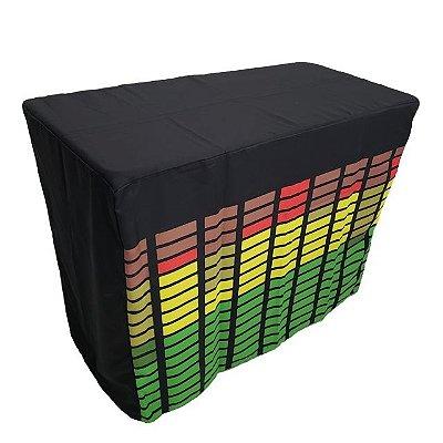 Capa Envelope Led Digital para mesa dobrável - 122x61x90cm