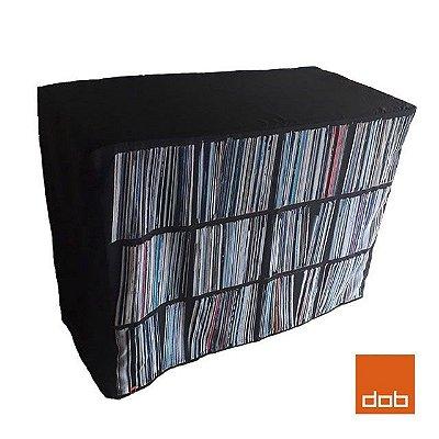 Capa para mesa dobrável Envelope Vinyl Collection P - 122x61x84cm