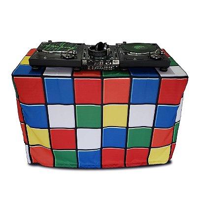 Capa Envelope Cubo Mágico para mesa dobrável - 122x61x84cm