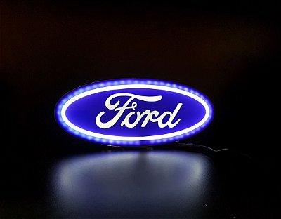 Logomarca Ford em Acrílico com LED