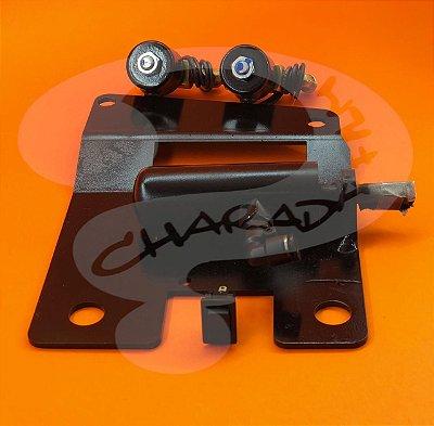 Kit de Trava da Grade CHARADA SCANIA Modelos 2007>