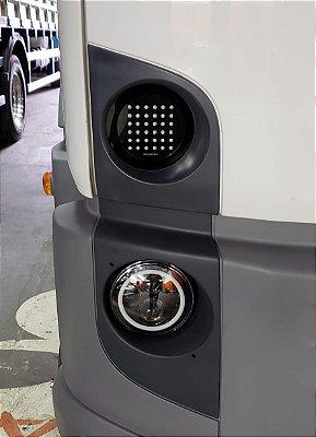 FAROL/Seta/Pisca de LED em Acrílico VW CONSTELLATION EXCLUSIVIDADE CHARADA (Par)
