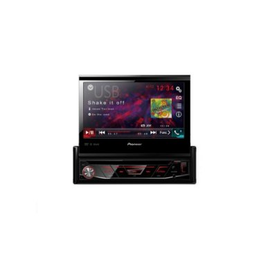 "DVD PLAYER 1DIN USB FRONTAL/AUX/BLUETOOTH 7"" AVH3180BT PIONEER"