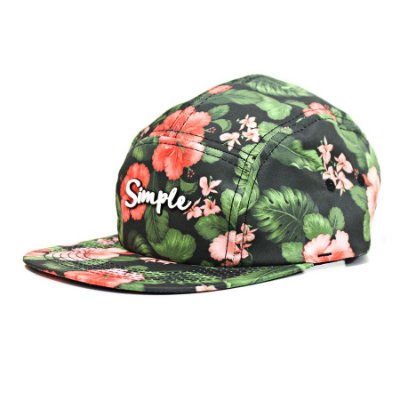 Boné Simple Fivepanel Flowers