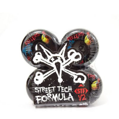 Roda Bones STF Fellers V2 Roost Black - 53mm