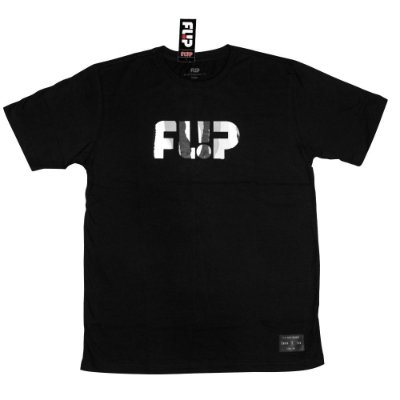 Camiseta Flip Skateboards Neon BW