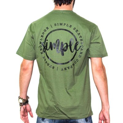 Camiseta Simple Skate Seal