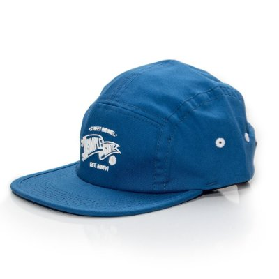 Boné Simple Fivepanel Pennant Blue