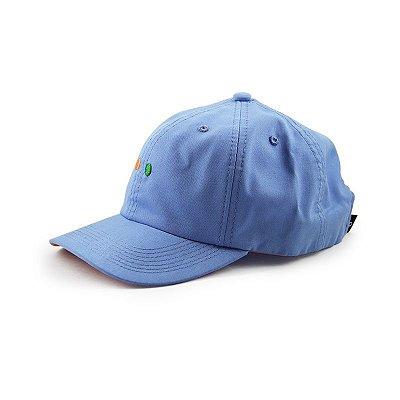 Boné Dad Hat Hábito Skateboard Azul