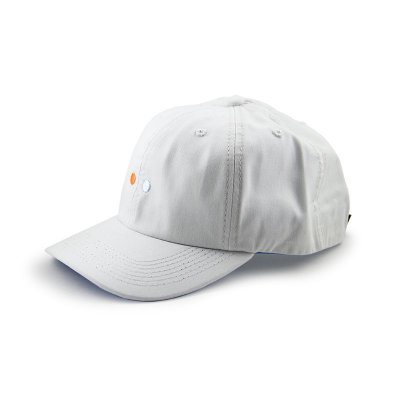 Boné Dad Hat Hábito Skateboard Branco