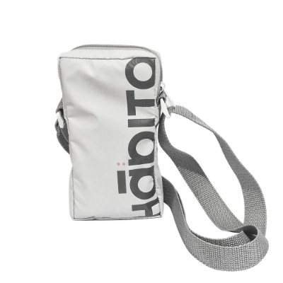 Bolsa Hábito Skateboard Shoulder Bag Cinza
