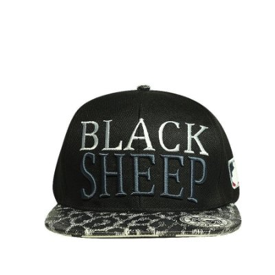 Boné Aba Reta Strapback Black Sheep