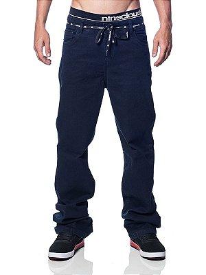 Calça Jeans Dark Blue Nineclouds Skateboards
