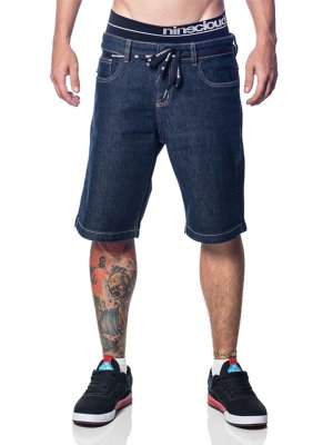 Bermuda Blue Jeans NB04 Nineclouds Skateboards
