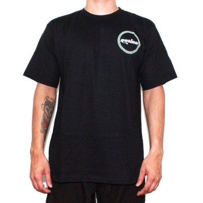 Camiseta Narina Skateboards Círculo Costas