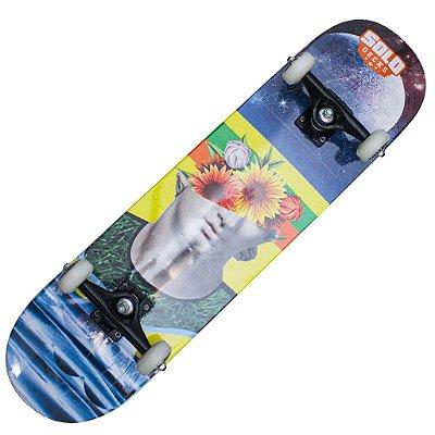Skate Montado Solo Decks Pro Serie Colagem #2
