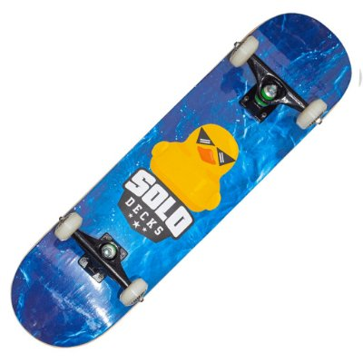 Skate Montado Solo Decks Pro Duck