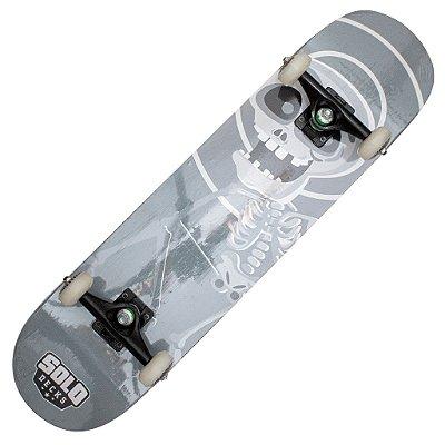 Skate Montado Solo Decks Pro Skull