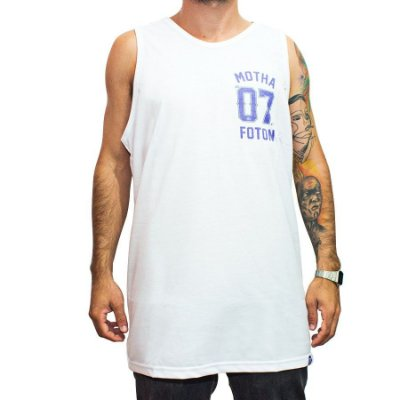 Camiseta Regata Foton Skateboards Branca 07