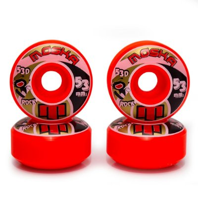 Roda Moska Trick 53D Laranja - 53mm