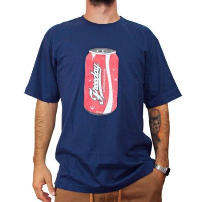 Camiseta Freeday Coke Azul