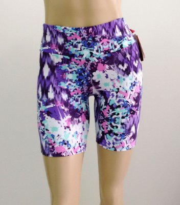 Short Estampado Violet Flower Tamanho G