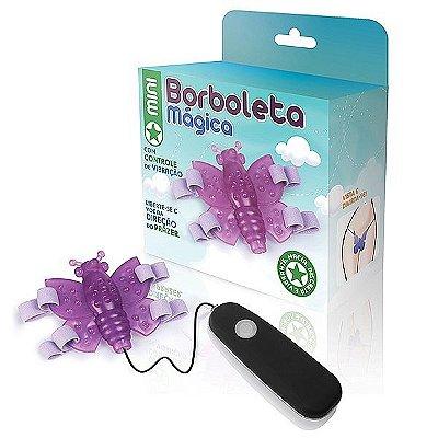 Mini Borboleta mágica lilás - 12 variações de velocidade