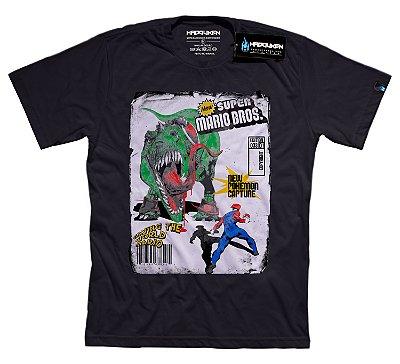 Camiseta New Game Super Mario