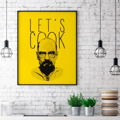 Poster Breaking Bad - Let's Cook