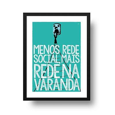 Poster Rede na Varanda