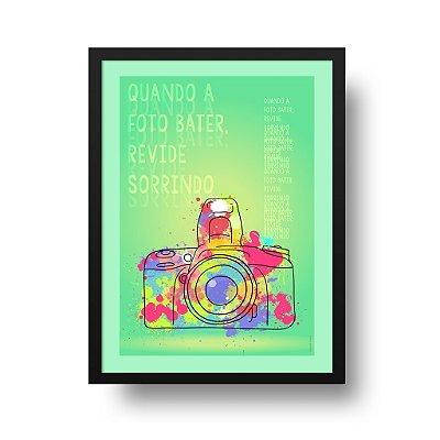 Poster Foto - Quando a Foto Bater Revide Sorrindo