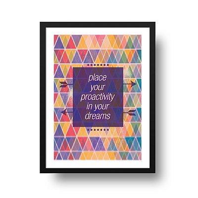 Poster Motivacional - Proactivity