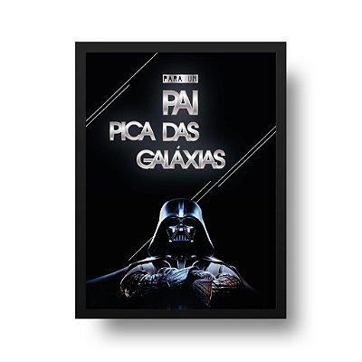 Poster Darth Vader - Para um Pai Pica das Galáxias