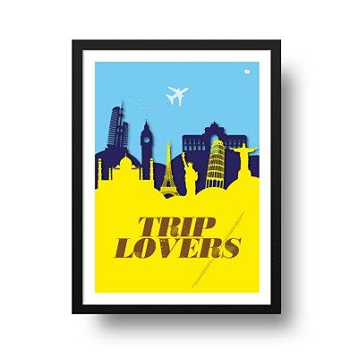 Ponta de Estoque - Poster Viagem - Trip Lovers - 1 unidade disponível