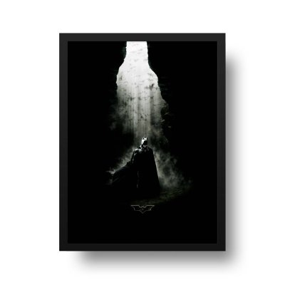 Quadro Poster Decorativo Cinema Filme Batman Begins