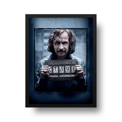 Quadro Poster Decorativo Cinema Filme Harry Potter - Sirius Wanted