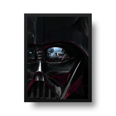 Quadro Poster Decorativo Cinema Filme Star Wars - Darth Vader