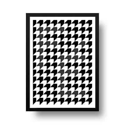Poster Geométrico - Fé