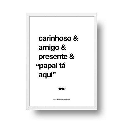 Poster para Pai - Carinhoso